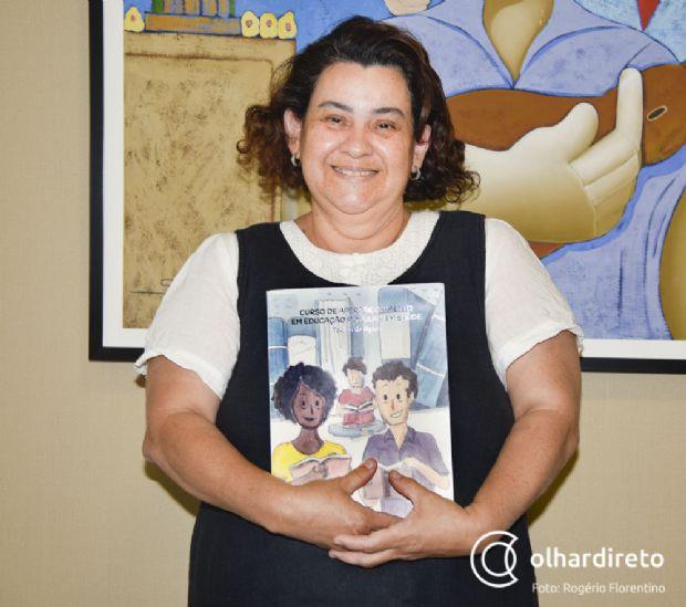 Vera Holística é uma das professoras do curso em Cuiabá