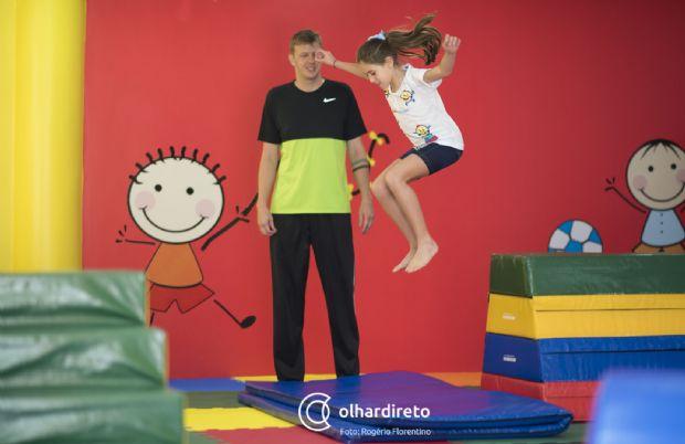 Médicas inauguram academia para crianças de 2 a 12 anos em Cuiabá