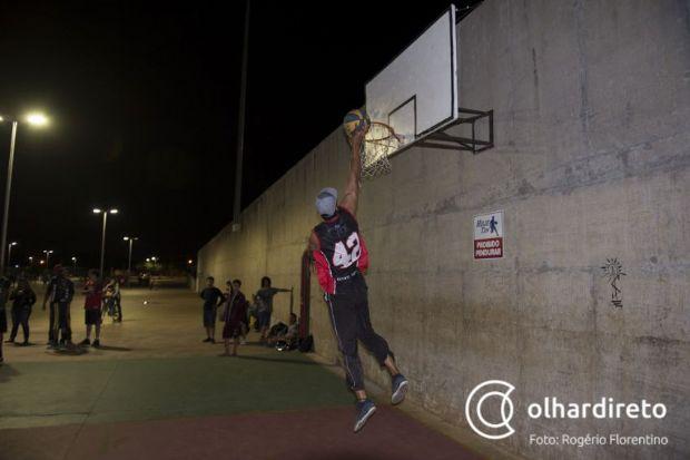 Times organizam torneio de basquete beneficente no CPA 1 este final de semana