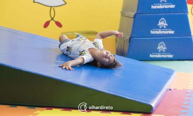 Academia para crianças em Cuiabá oferece colônia de férias com atividades para o corpo e a mente