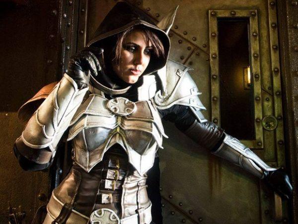 Iaina de Demon Hunter, do game Diablo III, e que foi responsável por dar a ela o 3º lugar na competição internacional do YCC
