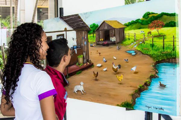 Exposição retrata o Pantanal, a cultura e a vida na zona rural em Mato Grosso com estreia de artistas