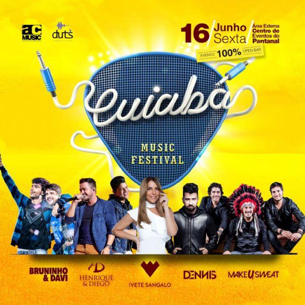 Festival com Ivete Sangalo, Bruninho e Davi, Henrique e Diego e outros abre lote promocional