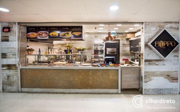 Do buffet oriental às massas e produtos naturais, Galeria do Extra é opção completa de alimentação