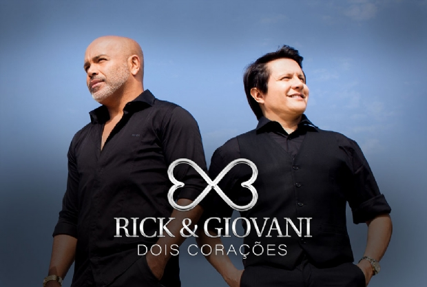 Na reta final com 'Dois Corações', Rick e Giovani se apresentam hoje em Cuiabá