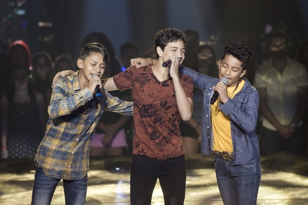 Candidato de MT vence batalha e continua na disputa no The Voice Kids
