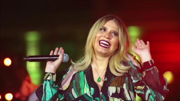 Marília Mendonça faz show surpresa em Cuiabá para gravação de clipe; entrada liberada