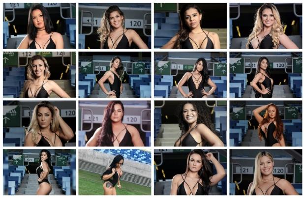 Trinta candidatas à 'Rainha do Peladão' desfilam no lançamento do torneio