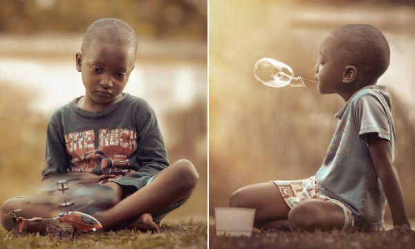 Fotógrafo consegue captar a pureza da infância em série adorável