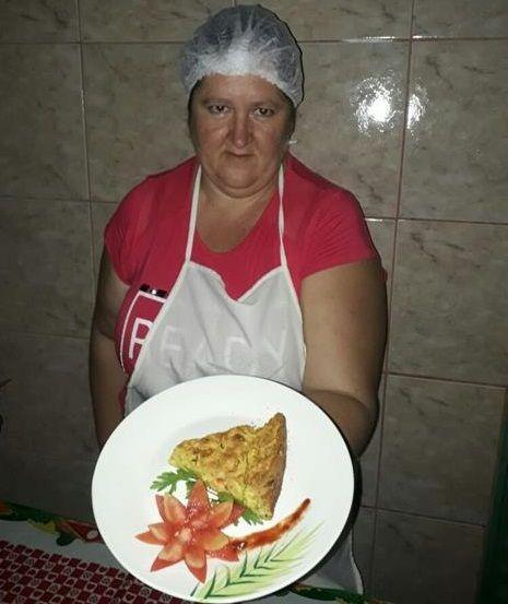 Nelsi e sua torta de legumes