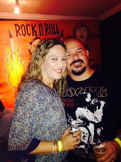 Unido pelo Rock, casal cuiabano decide se casar em um bar da capital nesta sexta-feira