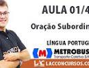 Concurso Metrobus - 2016 - Oração Subordinada
