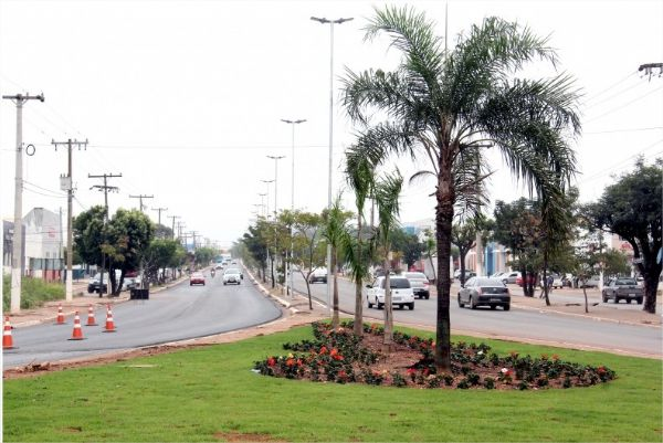 Prefeitura promete trabalho permanente de paisagismo em Cuiabá