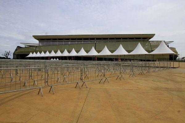 Ainda passando por 'retoques', Arena Pantanal é entregue ao comando da Fifa
