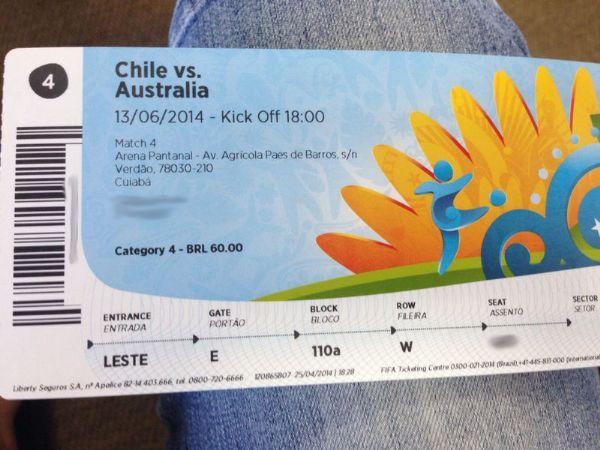 Fifa reabre em junho venda de ingressos para a Copa em Cuiabá