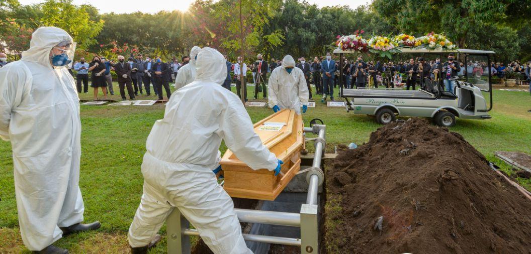 Mato Grosso bate a marca de 10 mil mortos por Covid-19; 53 nas últimas 24h