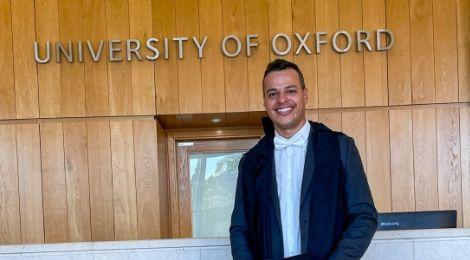 """Após anos vivendo na Europa, cuiabano entra para a Universidade de Oxford: """"quero inspirar"""""""