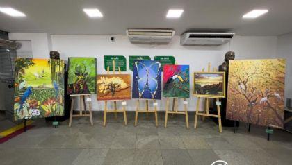 """Exposição """"'Nascidos da Terra"""" reúne obras de artistas regionais"""