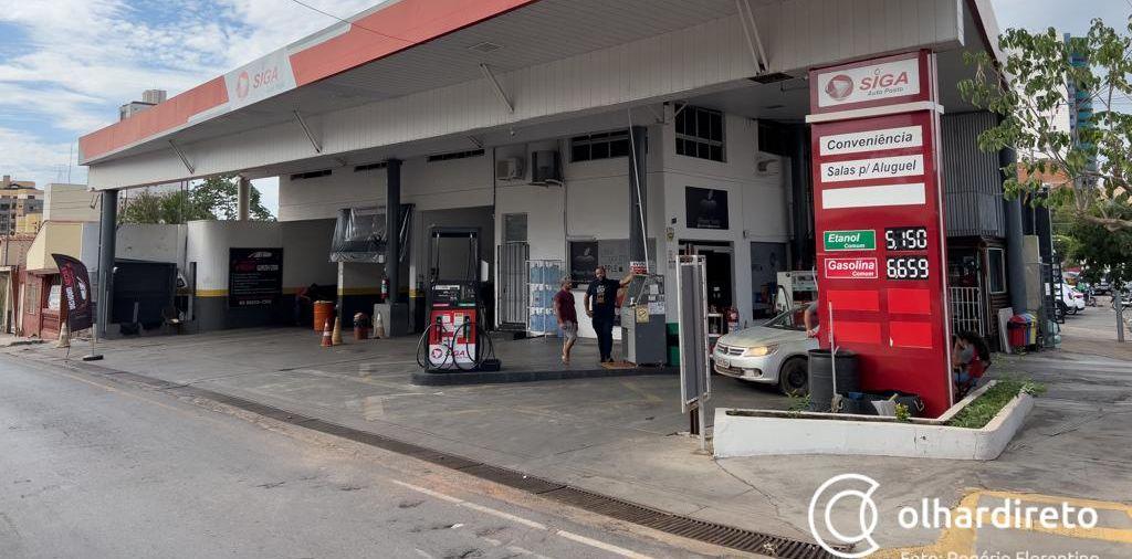 Álcool ultrapassa R$ 5 e gasolina se aproxima de R$ 7 em Cuiabá