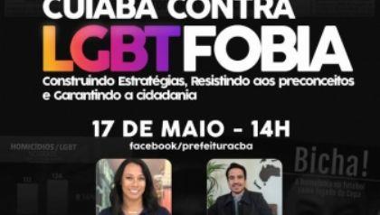Prefeitura de Cuiabá prepara programação para o Dia Internacional de Combate a LGBTFOBIA
