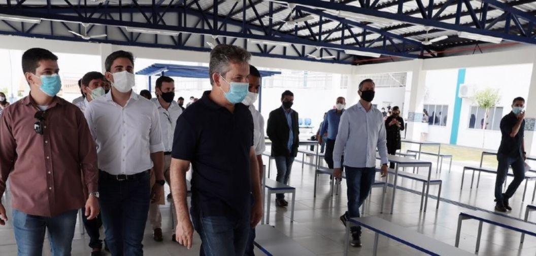 Mauro diz que investimento em novos hospitais é de R$ 600 milhões e promete anunciar nova obra sexta-feira