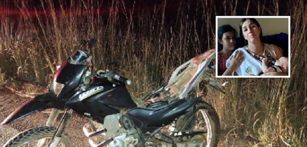 Mãe de três filhos pede justiça após morte do marido em acidente de trânsito