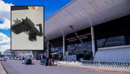 Homem é preso após tentar embarcar armado em voo no Marechal Rondon