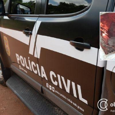 Bandidos executam duas vítimas em rodovia e corpo de uma é carbonizado