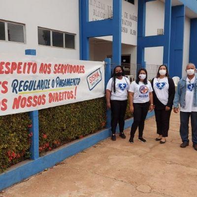 Profissionais do Hospital Regional de Cáceres cobram pagamento de adicionais; SES nega atraso