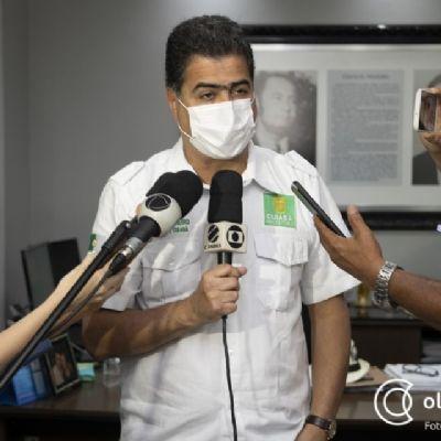 Emanuel diz que liberou Dutrinha a contragosto e aguarda compensação com vacinas: 'fizemos nossa parte'