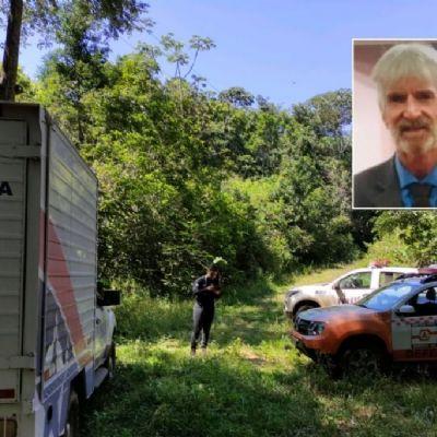 Bombeiros encontram corpo de idoso que ficou desaparecido por três dias