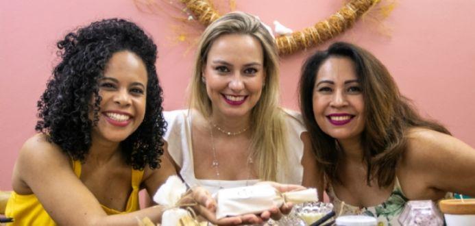 Trio de mulheres abre loja para vender produtos terapêuticos e de autocuidado