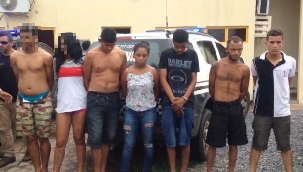 Bandidos que sequestraram empresária por 12h recebiam ordens de dentro de presídio;  veja vídeos