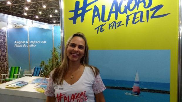 Ana Paula Azevedo, Supervisora de Eventos da Secretaria de Desenvolvimento e Turismo do Governo de Alagoas