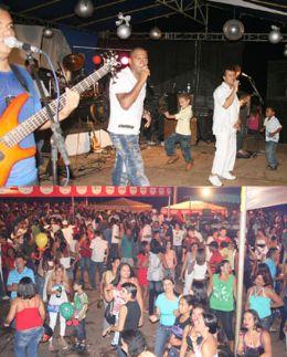 O carnaval de Aragarças acontece às margens do rio Araguaia na avenida Beira Rio