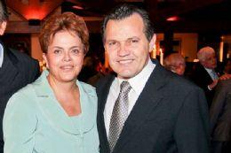 Sem justificativa, Dilma cancela audiência com governador