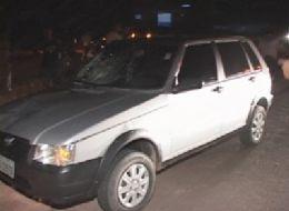 Garimpeiro tenta atravessar a BR-163 e morre atropelado por um Fiat Uno