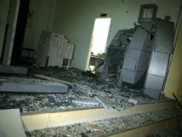 Bando armado invade prefeitura e explode caixa eletrônico do BB