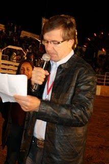 Produtor rural infarta ao discursar em encerramento da Expocampo em MT