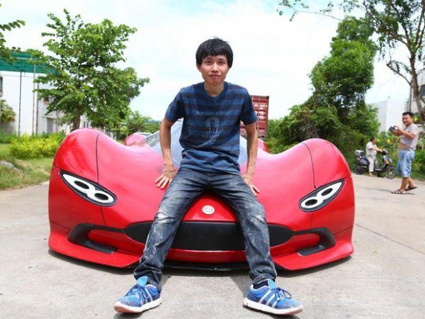 Chen Yinxi, 27 anos, é estudante de engenharia e fã de carros