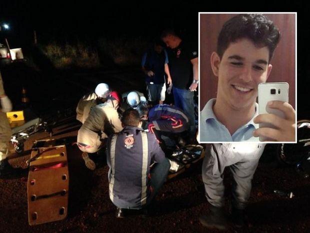 Estudante de direito morre após atropelar ciclistas e ser atingido por Fiorino;  veja fotos