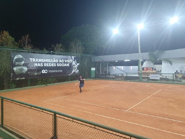 Campeonato de Tênis em MT tem mais de 250 inscritos e prêmios de até R$ 3,5 mil