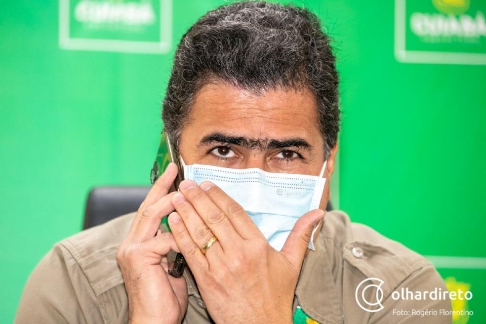 """Emanuel sobe o tom contra governo, diz que prefeito é quem manda em Cuiabá e enfatiza: """"BRT não vai sair"""""""