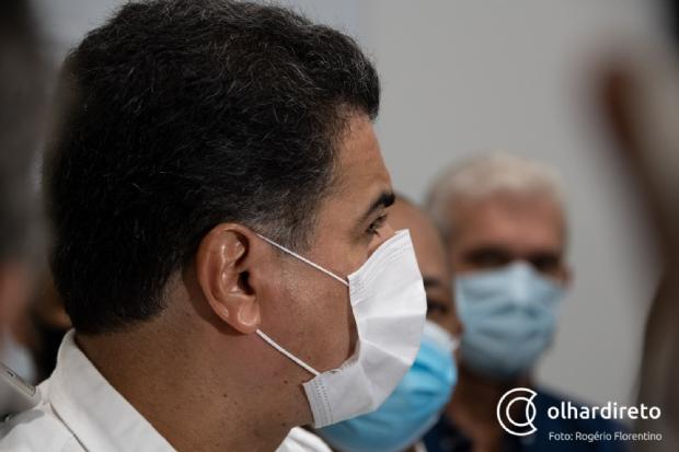 Em Brasília, Emanuel trata da compra de vacinas e liberação de emenda; vice se reúne com governador