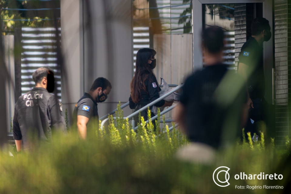 Veja a lista de policiais civis, militares e outros presos em operação do Gaeco e Corregedoria da PJC