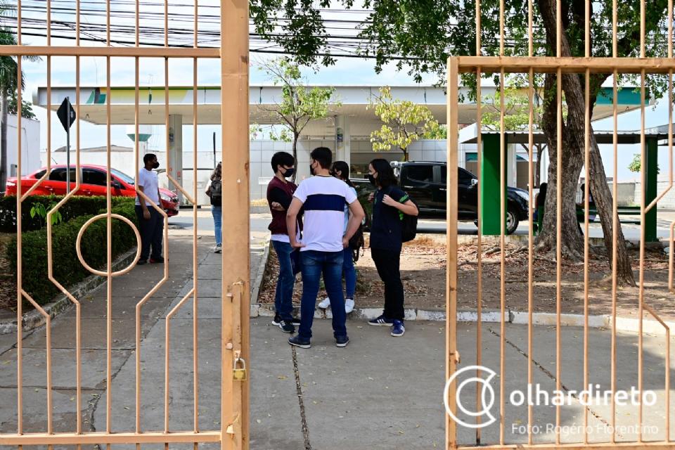 Retorno do Liceu Cuiabano tem escalonamento semanal, novos bebedouros e expectativa de recuperação do rendimento escolar