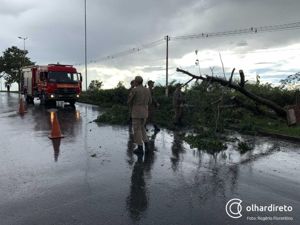 Inmet emite alerta de chuvas e ventos intensos para 13 municípios de Mato Grosso