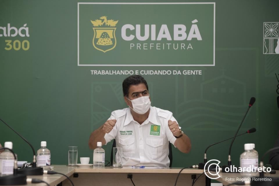 Emanuel nega extinção da Empresa Cuiabana de Saúde após denúncias: 'não vai prejudicar a instituição'