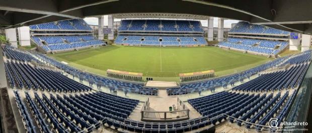 Governo já gastou R$ 300 mil para adequar Arena Pantanal para grandes partidas; Cuiabá joga sábado
