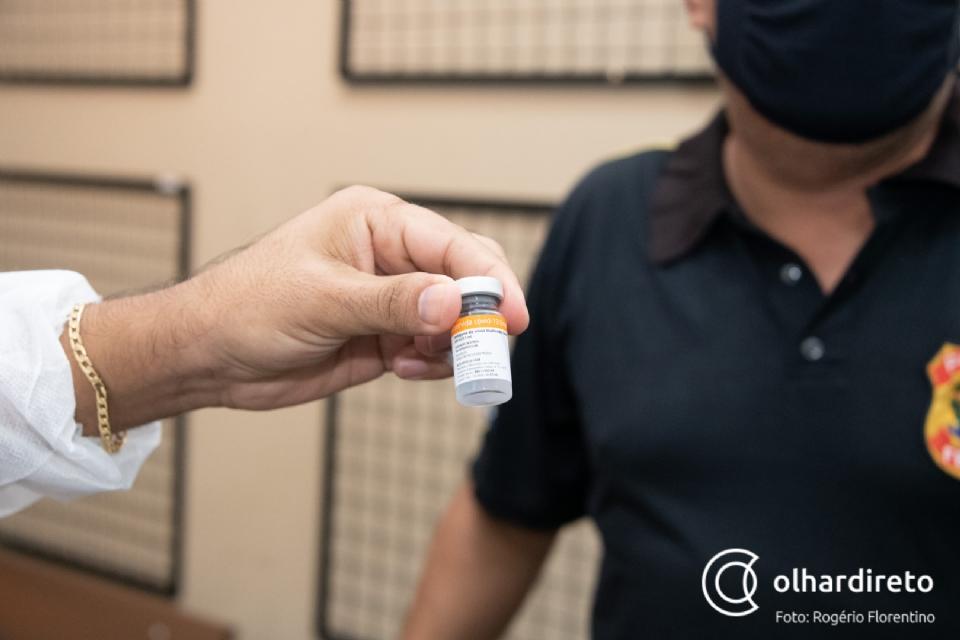 Vacinômetro: MT alcança 8,4% da população imunizada com 2ª dose de vacina contra a Covid-19